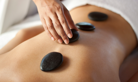Specializing in both Hot Stone Therapy and Thai-Yoga Massage